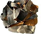 Leather Scraps from Furniture - Soft and Flexible. Various Sizes, Colors and Shapes. 2-7 Pieces per Pack - 2 Lbs