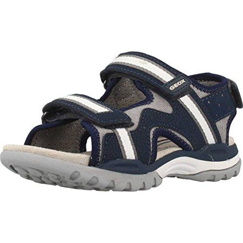 Geox J820RB 01050 Sandalo Velcro Bambino Blu 31