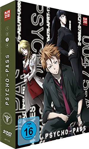 Psycho-Pass - Staffel 1 - Vol.3 - [DVD]