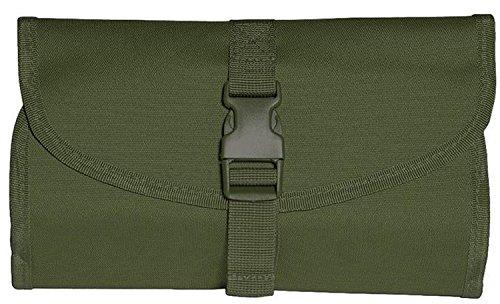 M-T 16004001 Bolsa de aseo y neceser militar. Verde oliva. 26x16x2cm