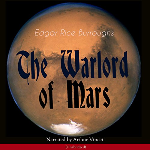 The Warlord of Mars (The Barsoom Series 3) audiobook cover art