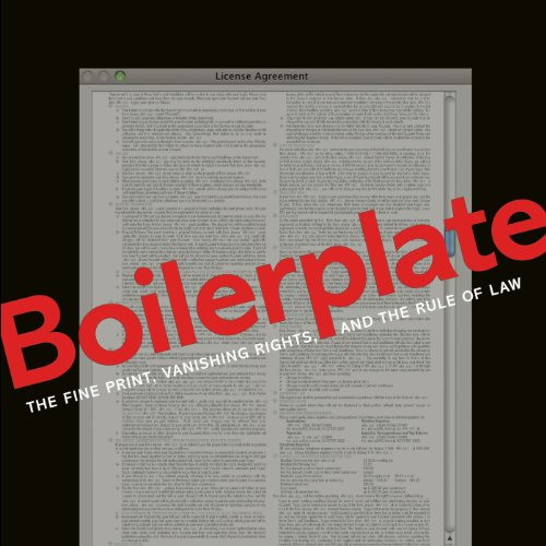 Boilerplate audiobook cover art