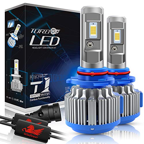 WinPower - HIR2(9012) - Kits de conversion d'ampoules de phares à LED CREE avec Canbus - Blanc Xenon 70W 7200Lm 6000K - 2 Pièces