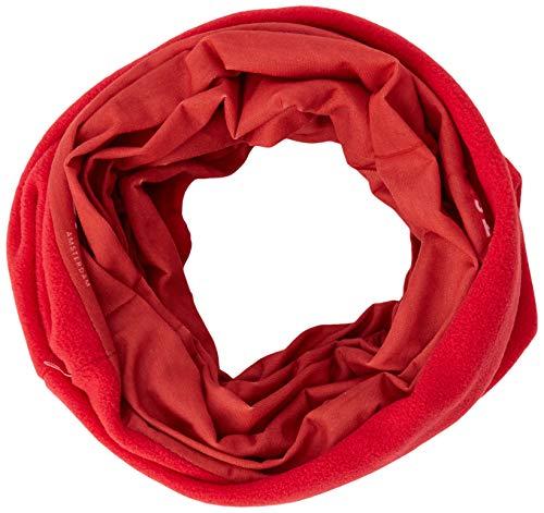 Barts Multicol Polar Echarpe, Rouge (0025-POPPY 025L), Unique (Taille Fabricant: UNI) Mixte
