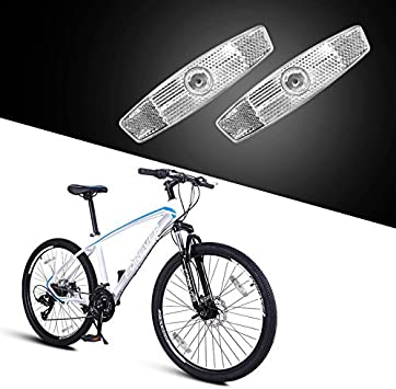 Details about  /SUNLITE Reflector Set Bike Bicycle Red Yellow White Safety Wheel Bracket NEW!