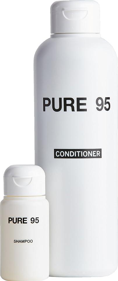 浴フォーラム一般的なパーミングジャパン PURE95 おまけ付きセット コンディショナー 300ml + おまけ ピュア(PURE)95 シャンプー 25ml