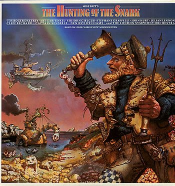THE HUNTING OF THE SNARK VINYL LP[SNARK1] 1986 MIKE BATT