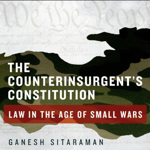 The Counterinsurgent's Constitution cover art