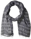 Armani Exchange A|X Herren Allover Print Scarf Handschuhe für kaltes Wetter, navy, Einheitsgröße