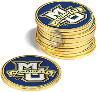 NCAA Marquette Golden Eagles - 12 Pack Ball Markers