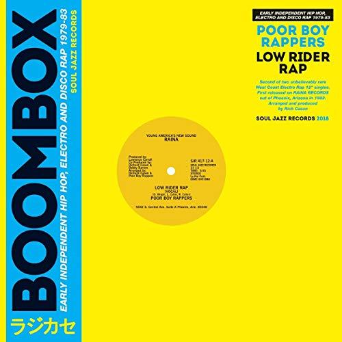"Boombox, Low Rider Rap Vinilo 12"""