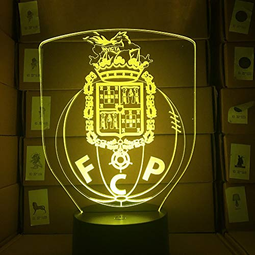 Porto 3D Lampe Usb 3Aa Batterie Led Nachtlampe Mit 7 Farben Ändern Touch Lava Lampe Dekorationen Für Zuhause