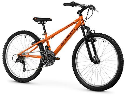 Anakon Cubix Bicicleta de montaña, niño, Naranja, 9-12 años