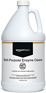 AmazonBasics Professional Multi-Purpose Enzyme Cleaner, Concentrate, 1 Gallon, 4-Pack
