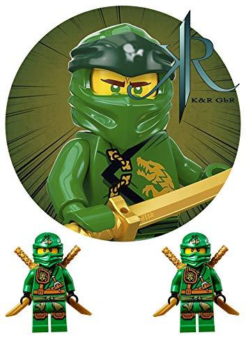 LEGO NINJAGO Tortenaufleger,Geburtstag,Tortendeko,