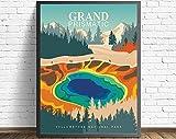 Yellowstone National Park, USA, großes Prismatisches