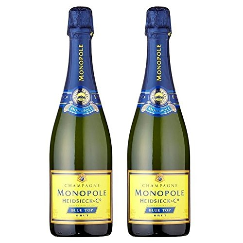 Heidsieck Monopole Blue Top Brut NV 75cl - (Pack of 2)