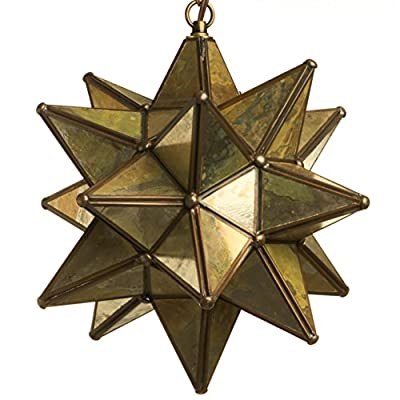Glass Star Pendant Lights