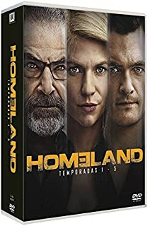 Homeland Complete Seasons 1-5 Home land - Seasons One, Two, Three, Four & Five NON-USA FORMAT, PAL, Reg.2.4 Spain