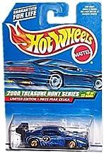 Hot Wheels - Limited Edition Treasure Hunt Series (2000) - Pikes Peak Celica (Metalflake Dark Blue) - #9 of 12 - Collector...