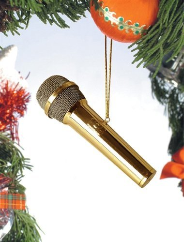 Gold Microphone Musical Instrume...