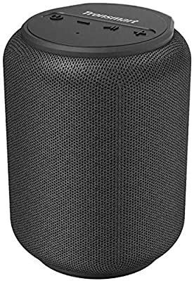Bluetooth speakers 5.0, Tronsmart T6 Mini 15W Ultra Portable Outdoor Speaker with 24 Hrs Playtime, 360¡ã TWS Stereo Sound, Extra Bass, IPX6 Waterproof, Support TF/Micro SD Card, Voice Assistant, Alexa from Tronsmart