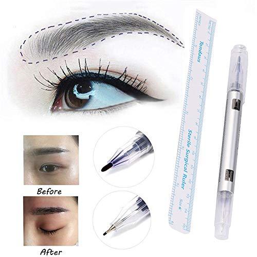 Outil chirurgical de scribe de stylo de marqueur de peau pour le maquillage permanent de piercing de tatouage