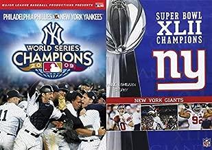 New York, New York! The Champions Pack: New York Yankees World Series Champions 2009 & Super Bowl XLII Champions New York Giants (2-Movie DVD Bundle)