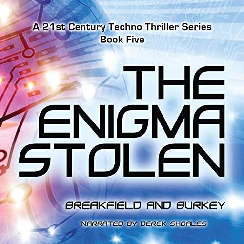 The Enigma Stolen audiobook cover art