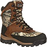 Rocky Men's FQ0004755 Mid Calf Boot, Brown and Mossy Oak Break Up...