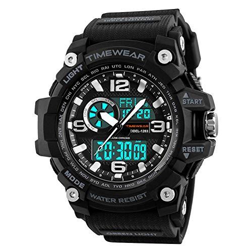 TIMEWEAR Commando Series Digital Analog Multifunction Sports Watch for Men