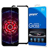 Protective Screen Guard for ZTE Nubia Red Magic 3 2019 6.65'', Geapor Tempered Glass LCD Screen Protector -Black