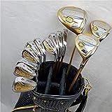 HGJINFANF La artesanía de Primera Clase te Hace más cómodo e New Hombre Set de Golf Golf Course Woods + Golf Irons Set + Putters Golf (Color : 9.5 R Flex)