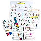 Motlan Magnetic Letter Board (2 in 1)— Alphabet...