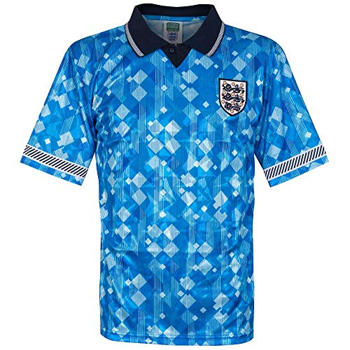 Photo of Score Draw England 3rd Retro Shirt World Cup 1990 – L