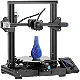 Creality Ender-3 V2 2021 | Upgraded 3D Printer with Silent Motherboard Meanwell Power Supply | Carborundum Glass Platform | Resume Printing | Color Display | Size 220x220x250mm