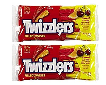 Twizzlers Sweet & Sour Filled Twists  11 oz  2 Pack