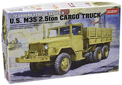Academy ac13410–1/72 M35 Cargo Truck, 2.5 Ton