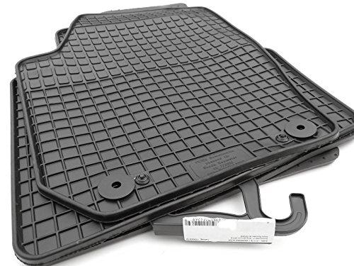 kh Teile 21110 Gummimatten Allwetter Gummi Fußmatten 4-teilig schwarz