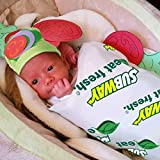 Baby Halloween Costumes - Sandwich Blanket Costume w Hat - Photography Props for Newborn Pictures Infant Boy Girl 0-3 6-9 12-18 Months
