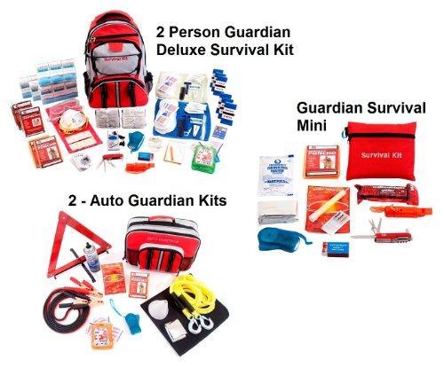 gardien de survie 2personnes Guardian Preparedness Package
