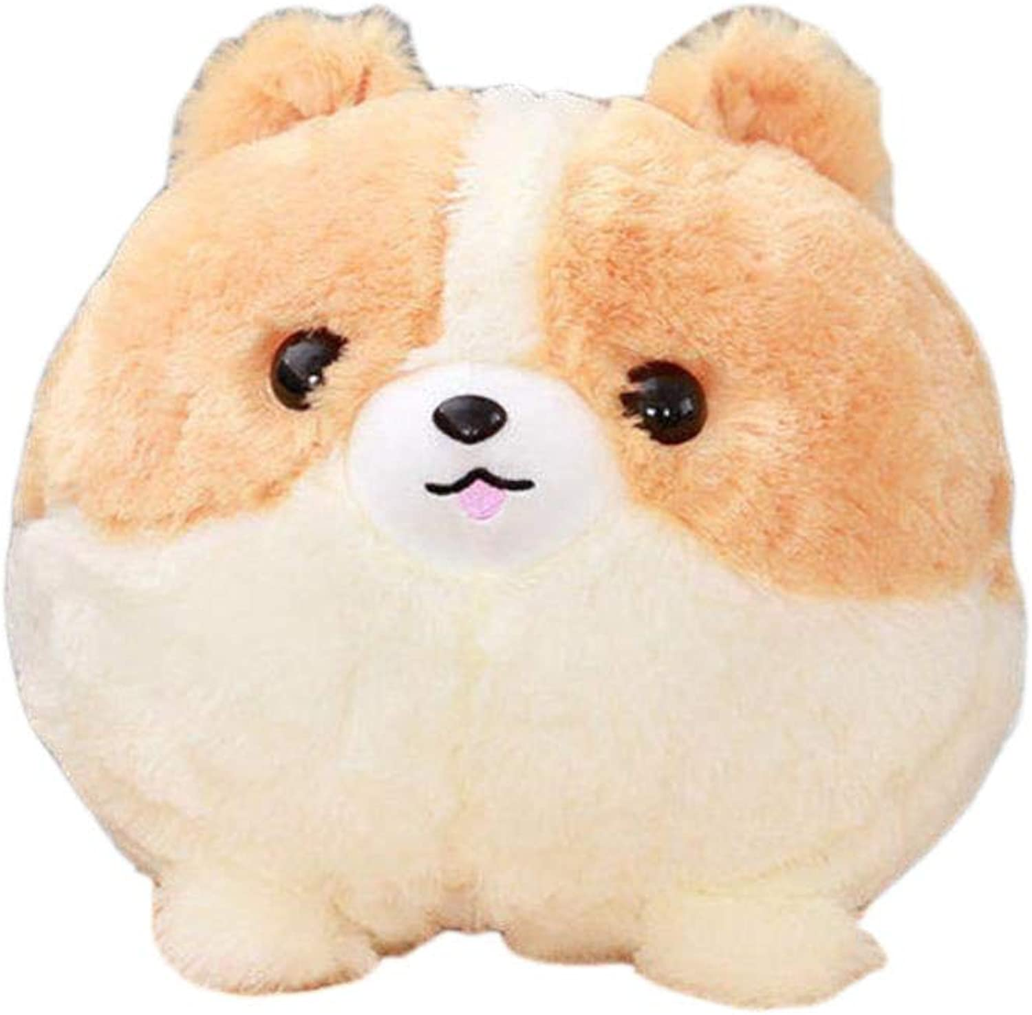 Stuffed Dog Plush dog Plush Pomeranian Dog Portable Blanket Toy Doll Baby Kids Shower Car Air Conditioning