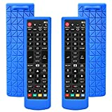 2 Stück Silikon TV Fernbedienung Hülle für LG