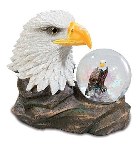 Katerina Prestige MO0398 Figur Adler mit Schneekugel