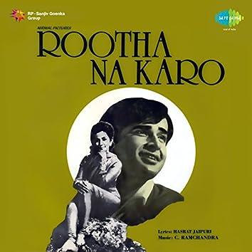 Rootha Na Karo (Original Motion Picture Soundtrack)