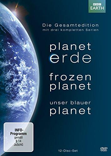Frozen Planet/Unser blauer Planet - Die Gesamtedition (12 DVDs)