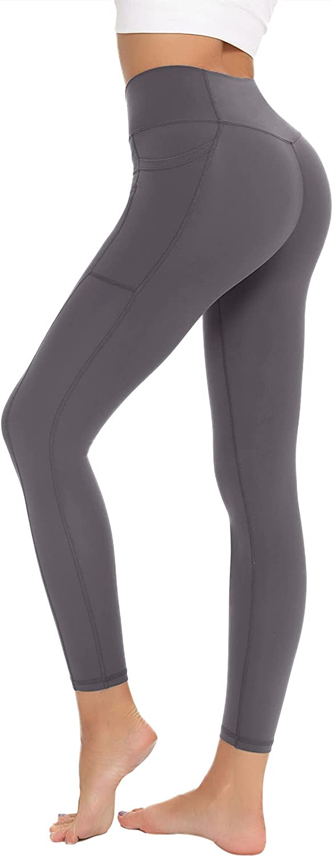 BATHRINS Womens Workout Leggings - P Comfortable Waist Soldering Topics on TV High Yoga