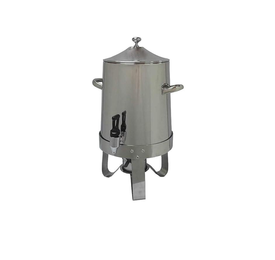 FixtureDisplays Dispenser, Coffee Urn, Large Stainless Steel 13037 13037