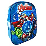 Kstationery Mochila Avengers Marvel Mochila Los Vengadores Mochila Escolar Infantil Niño, Color Azul Mochila Infantil Viaje (31cm)