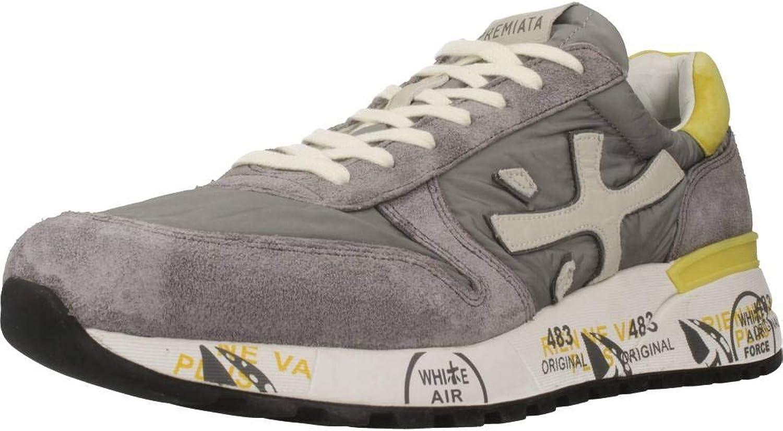 PREMIATA PREMIATA PREMIATA Mans skor, Colour grå, Brand, Model Mans skor Mick 3751 grå  bästa priserna